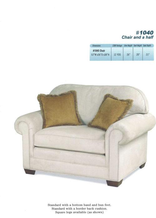 #1040 Chair & Half