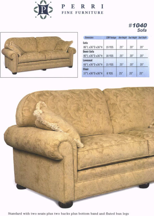 Style 1040 Sofabed