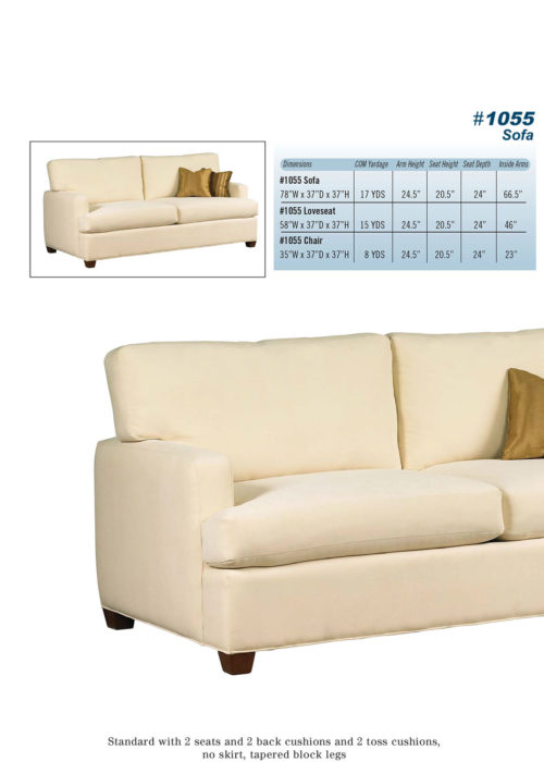 Sofa Style #1055