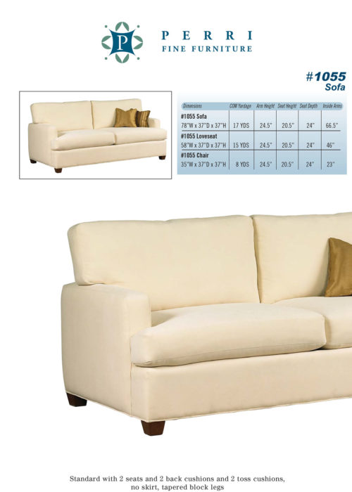 Style 1055 Sofabed
