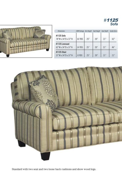 Sofa Style #1125