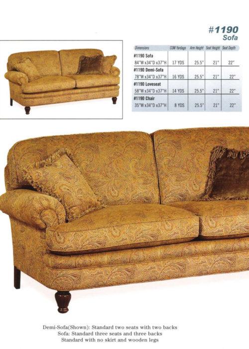 Sofa Style #1190