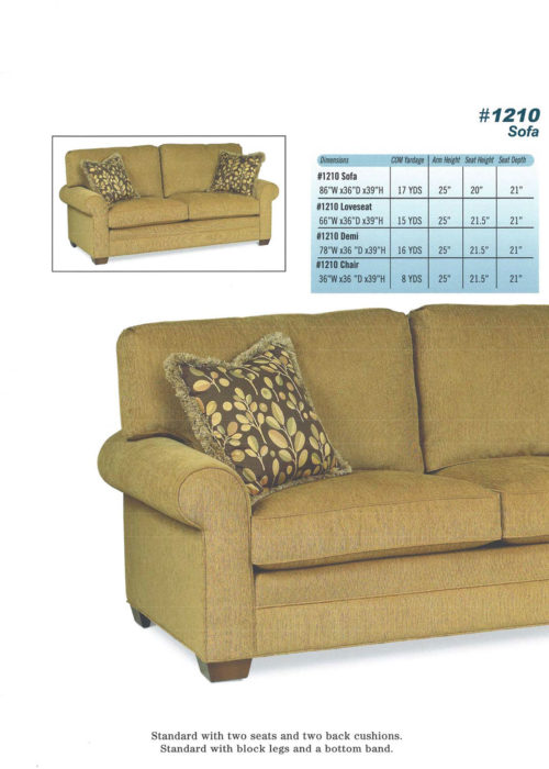 Sofa Style #1210