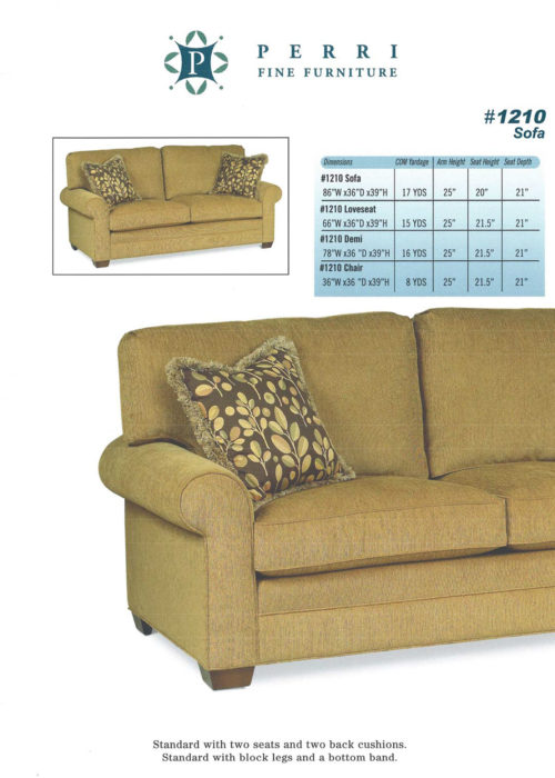 Style 1210 Sofabed