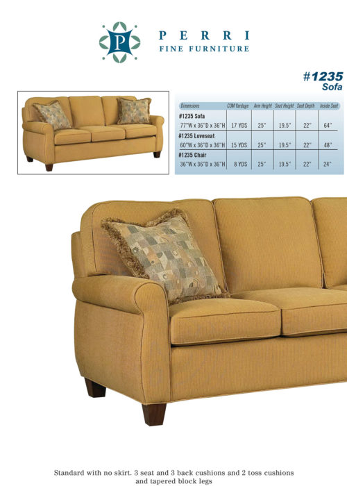 Style 1235 Sofabed