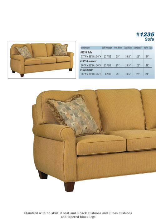 Sofa Style #1235