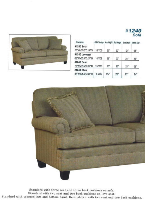 Sofa Style #1240