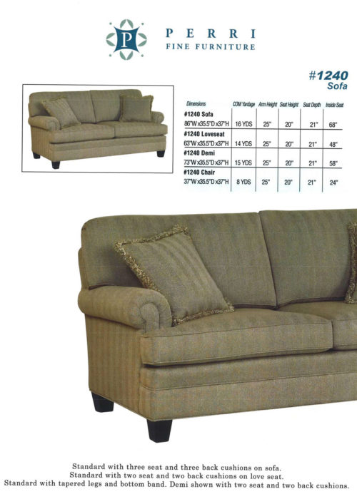 Style 1240 Sofabed