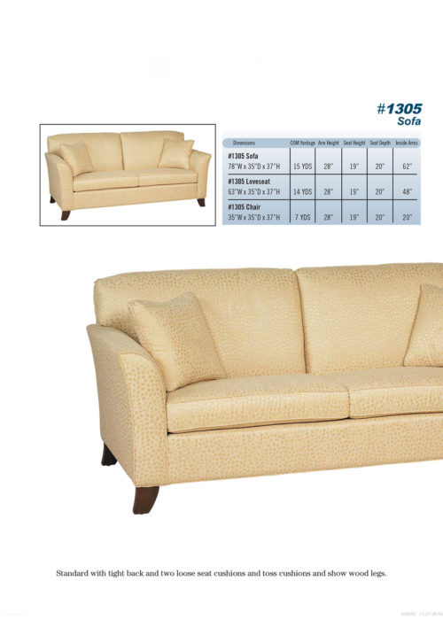 Sofa Style #1305