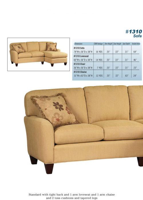 Sofa Style #1310