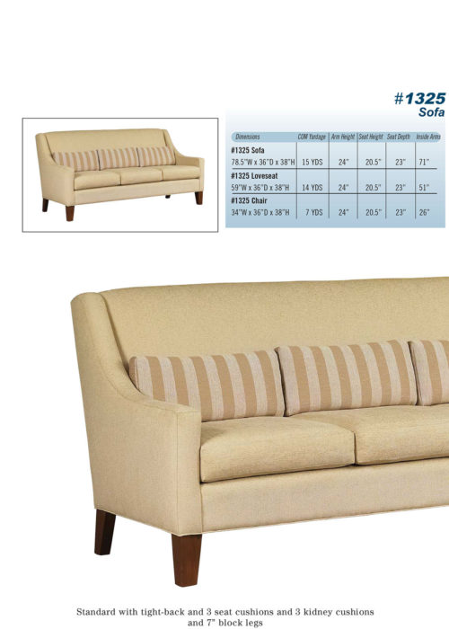 Sofa Style #1325