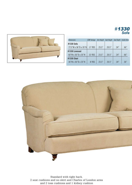 Sofa Style #1330