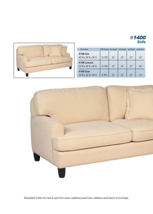 Sofa Style #1400