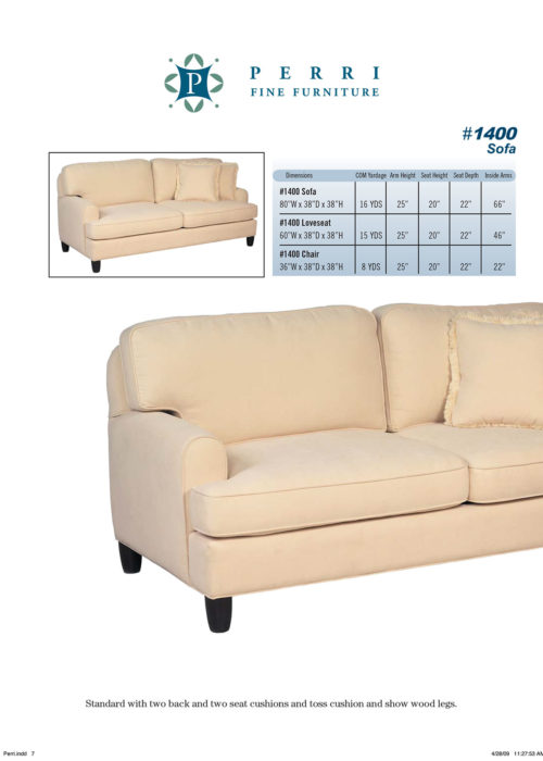 Style 1400 Sofabed