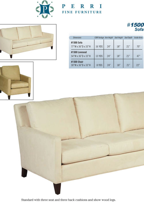 Sofa Style #1500