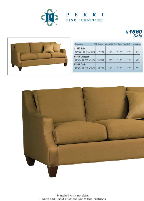 Style 1560 Sofabed