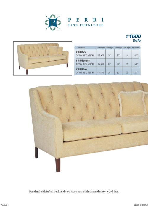 Sofa Style #1600