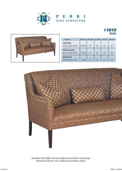 Sofa Style #1610