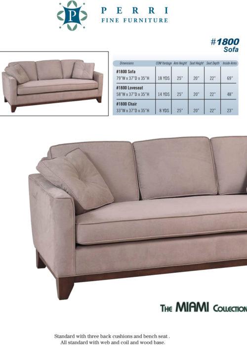 Sofa Style #1800