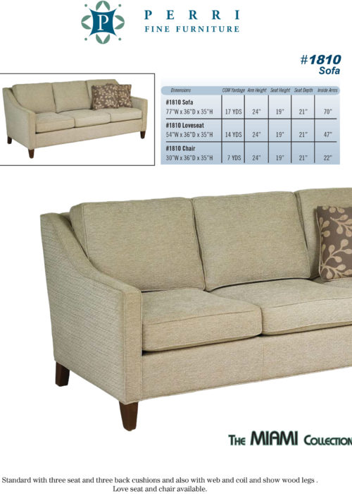 Style 1810 Sofabed