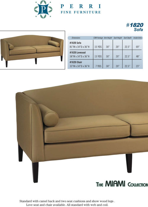 Sofa Style #1820