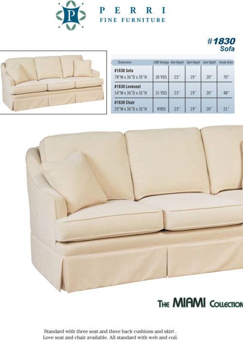 Sofa Style #1830