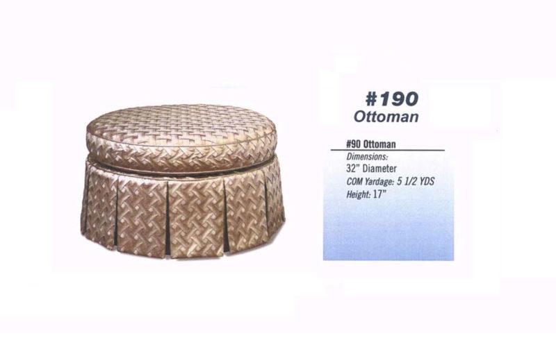 #190 Ottoman