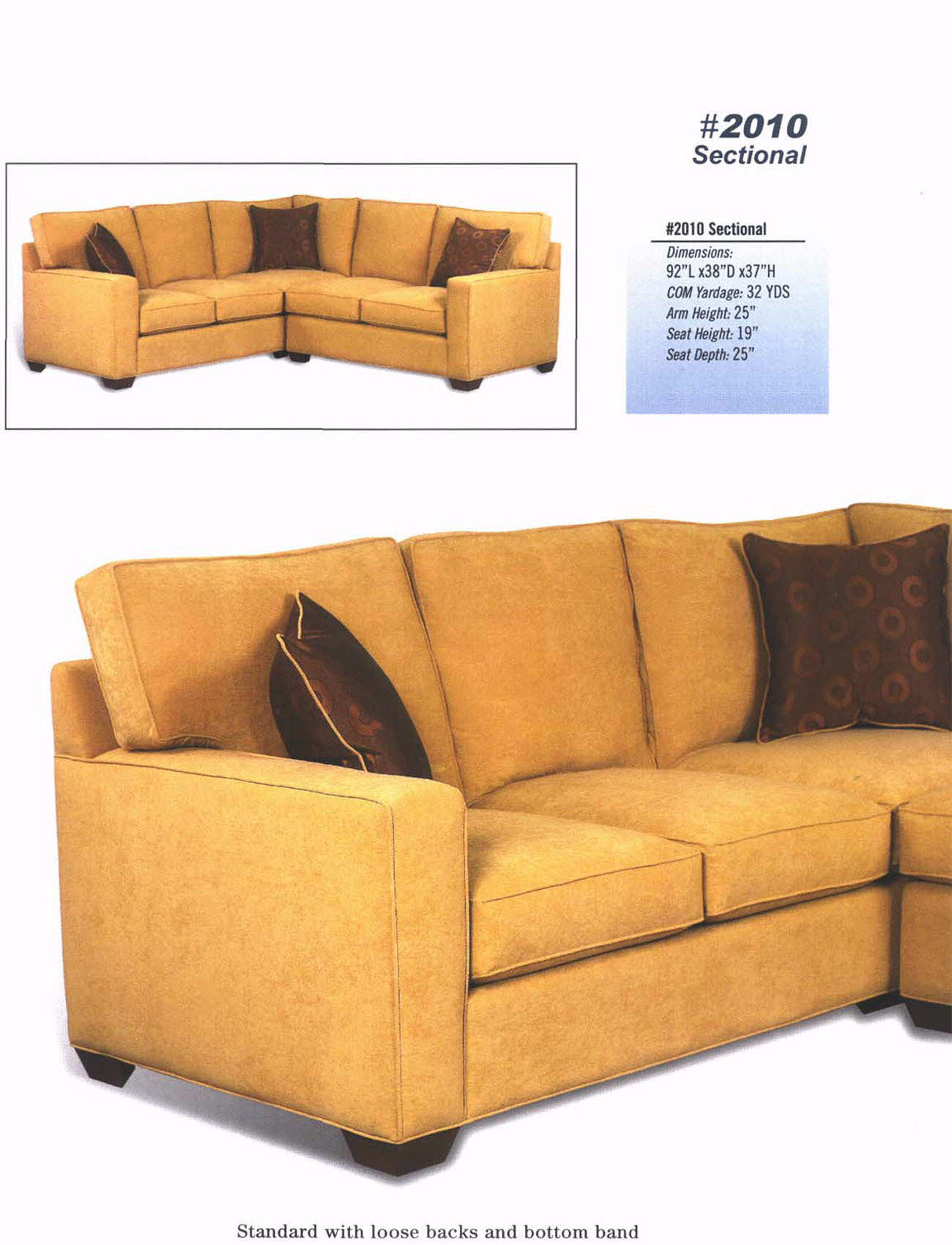 Style 2010 Sectional