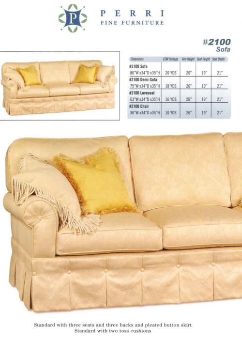 Sofa Style #2100