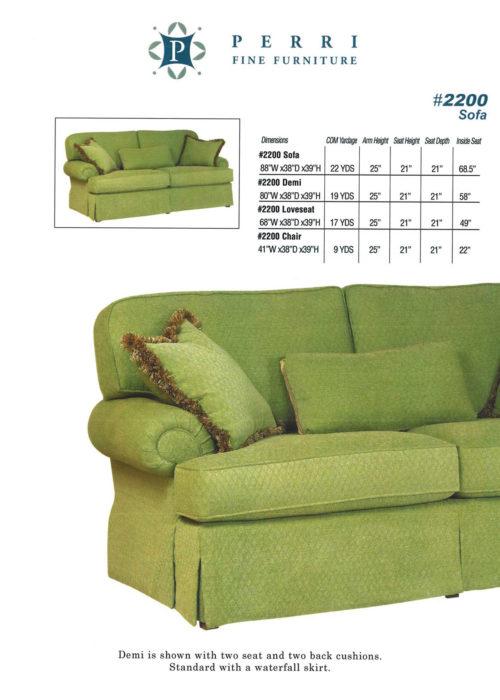 Sofa Style #2200