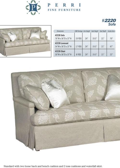 Sofa Style #2220