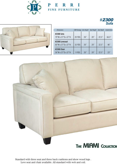 Sofa Style #2300
