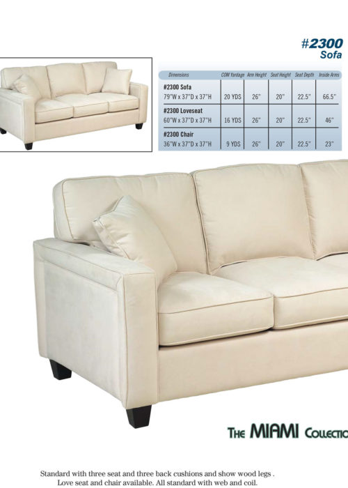 Style 2300 Sofabed