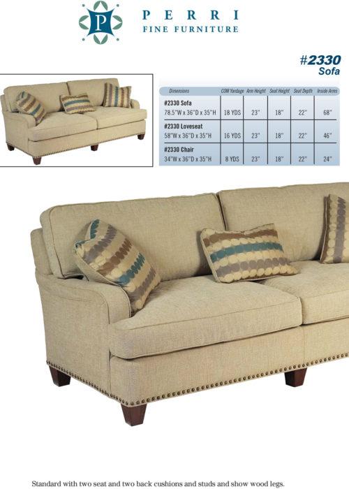 Sofa Style #2330