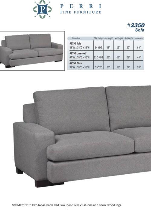 Sofa Style #2350