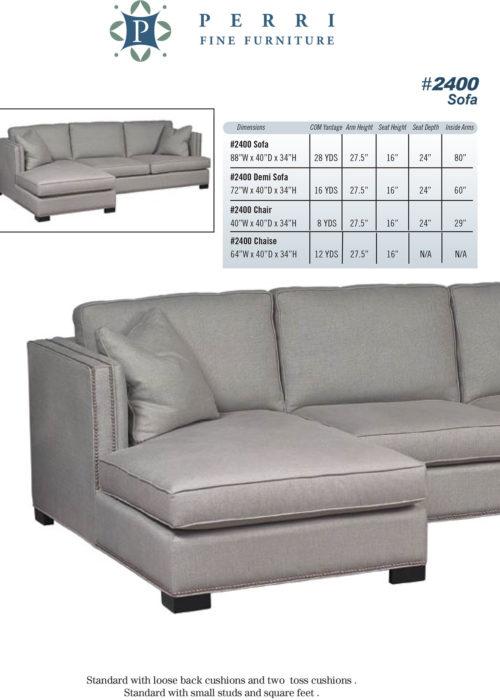Sofa Style #2400