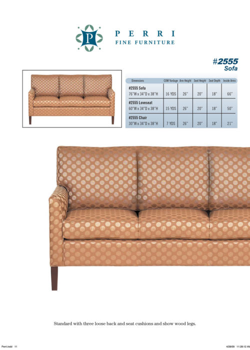 Sofa Style #2555
