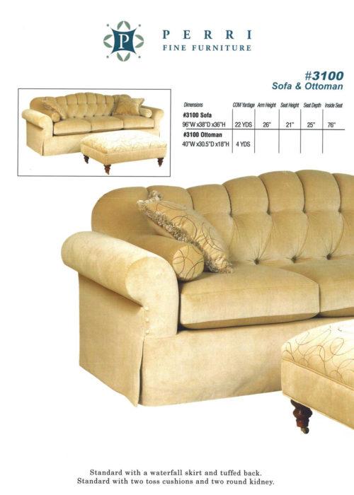 Sofa Style #3100