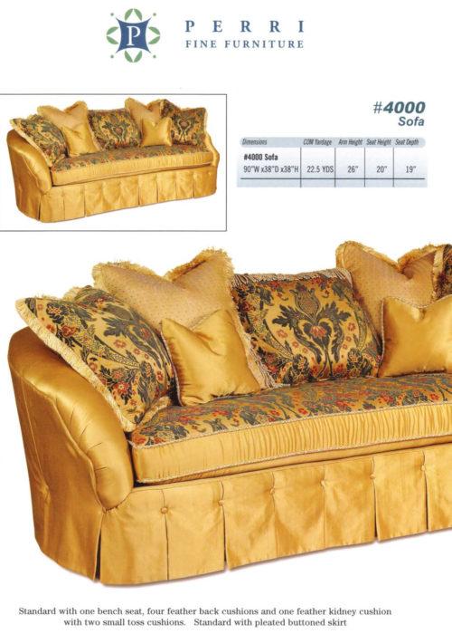 Sofa Style #4000